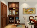 客餐厅一体装修效果图  33�O既优雅又显高贵_维意定制家具商城