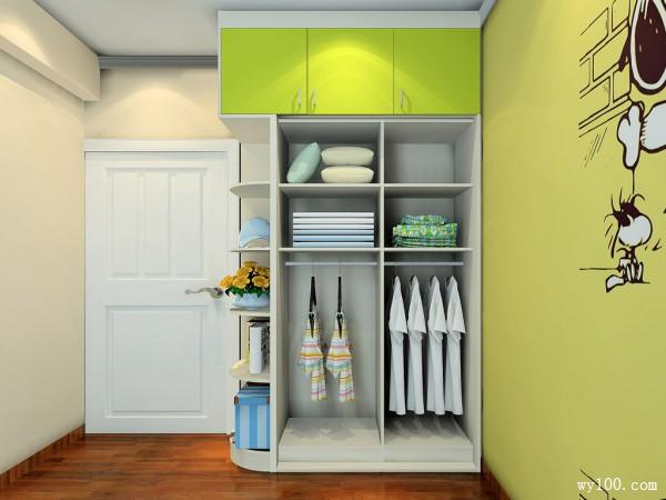 儿童房设计效果图 8�O卡通主题元素活泼可爱_维意定制家具商城
