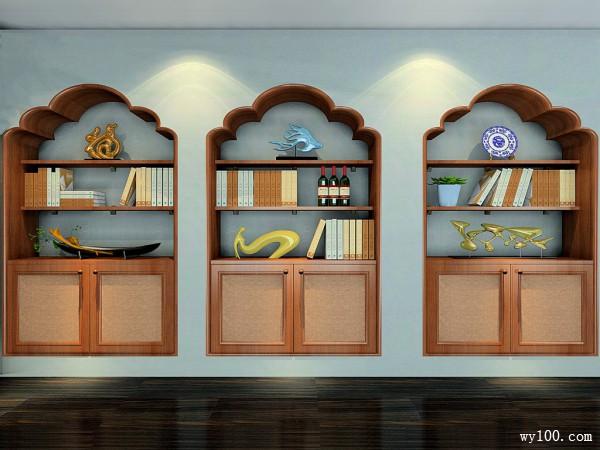 简约装饰柜卧室装修效果图