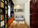 欧式书房设计 书柜与飘窗完美拼接设计简约又时尚_维意定制家具商城