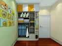 黄绿色面板为主卧室 超强收纳满足客户需求_维意定制家具商城