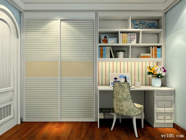 主卧室装修效果图  12�O储物柜扩大休闲区的使用_维意定制家具商城