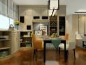 简约素雅客餐厅 白蜡木造型搭配让空间整洁大气_维意定制家具商城