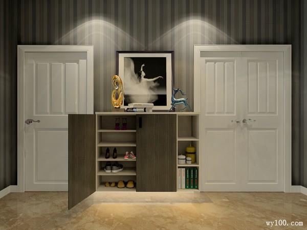 客餐厅装修效果图 38�O充斥着个性时尚_维意定制家具商城