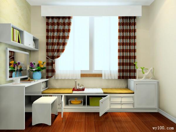 欧式梳妆柜卧室装修效果图