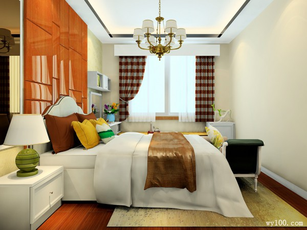卧室装修效果图 17�O空间利用率高_维意定制家具商城
