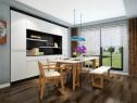 田园客餐厅 餐边柜利用墙体设计超大储物的柜体_维意定制家具商城