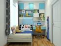 儿童房装修效果图 5�O给人地中海的感觉_维意定制家具商城