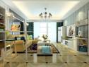 简欧风格设计客餐厅 吧台设计使整个空间时尚感强_维意定制家具商城