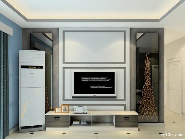 客餐厅装修效果图 40�O给人大气实用的感觉_维意定制家具商城
