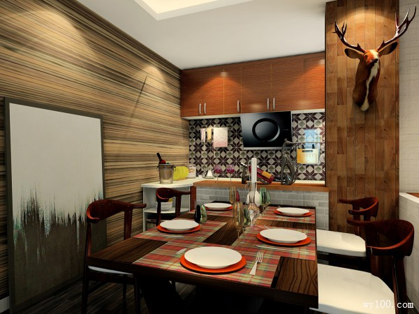 欧式其他客餐厅装修效果图
