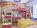 儿童房装修效果图 11�O休息区及阅读区_维意定制家具商城