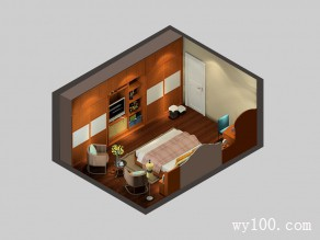 东南亚风格卧室 整体衣柜拼搭大气_维意定制家具商城