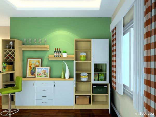 现代简约客餐厅 玉玛枫情阳光般的视觉享受_维意定制家具商城