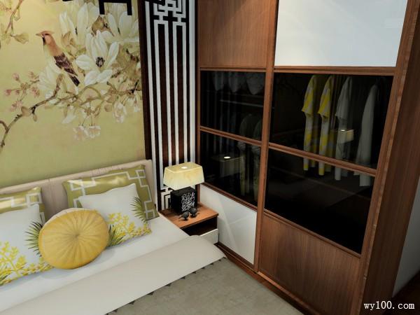 新中式与现代简约卧室混搭成另一种风格韵味_维意定制家具商城