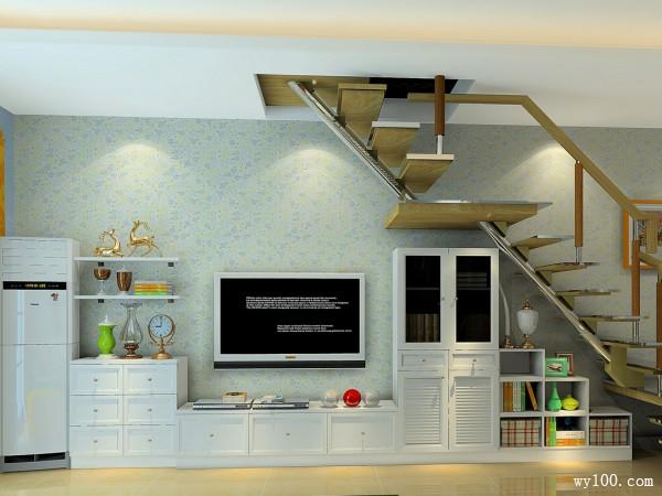 客餐厅装修效果图 28�O整个空间充满田园风味_维意定制家具商城