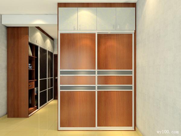 卧室装修效果图 19�O空间具有浓厚的中式风情_维意定制家具商城