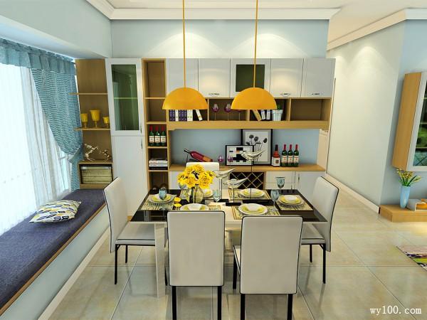 欧式客餐厅效果图 25�O整个空间奢华美丽_维意定制家具商城