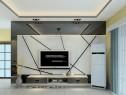 客餐厅装修效果图 30�O整个空间干净简洁_维意定制家具商城