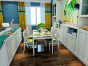 客餐厅装修效果图 30�O整体空间清爽舒适_维意定制家具商城