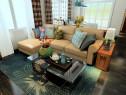 客餐厅装修效果图 39�O整体空间设计时尚美观_维意定制家具商城