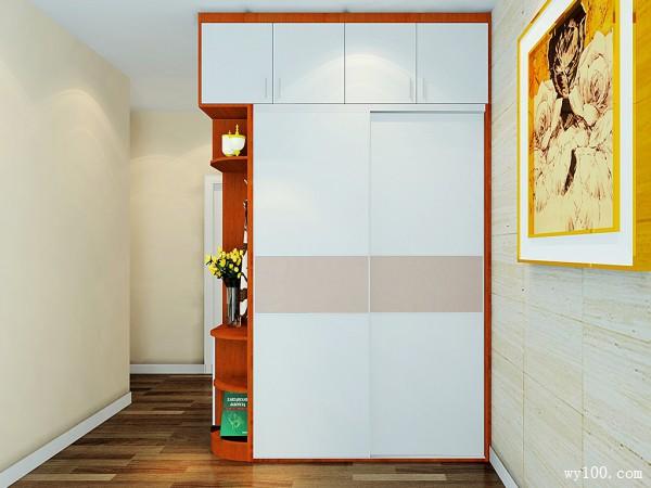卧室装修效果图 13�O满足衣物收纳需求_维意定制家具商城