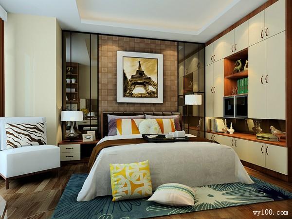 欧式多功能室卧室装修效果图