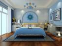 地中海风格卧室 空间充满大自然气息_维意定制家具商城