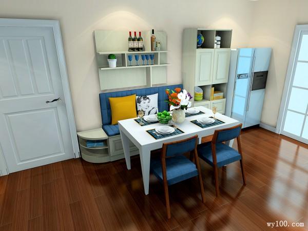 欧式客餐厅效果图 47�O时尚个性主冷暖搭配_维意定制家具商城