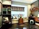 带飘窗到顶衣柜卧房设计效果图_维意定制家具商城