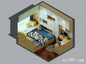 榻榻米飘窗书房 拥有办公功能同时具备客卧休闲区_维意定制家具商城
