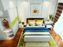 卧室装修效果图 19�O整体空间清新自然_维意定制家具商城