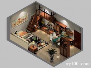 客餐厅装修效果图 26�O优雅又显高贵_维意定制家具商城