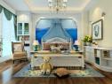 田园地中海风的卧房 设计清爽、舒适_维意定制家具商城
