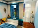 上下床儿童房设计 隔断窗分割了学习和睡眠区域_维意定制家具商城