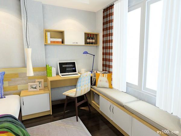 现代装饰柜卧室装修效果图