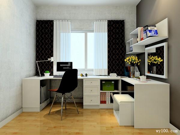 卧室装修效果图 20�O整体色调偏温馨自然_维意定制家具商城