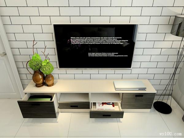客餐厅装修效果图 48�O巧妙搭配烘托出温馨_维意定制家具商城