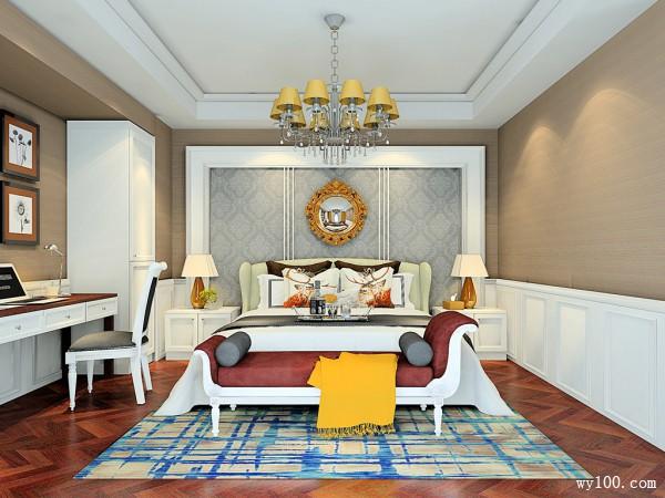 卧室装修效果图 31�O合理利用空间_维意定制家具商城
