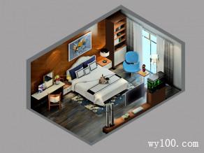 卧室装修效果图 23�O一个休闲读书的区域_维意定制家具商城