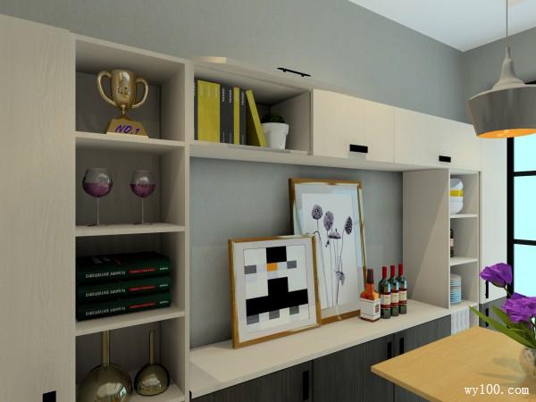 客餐厅装修效果图 42�O合理利用有效空间宽度_维意定制家具商城