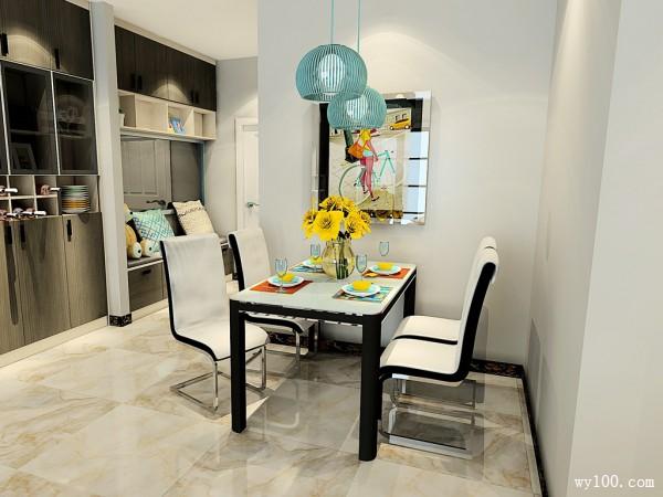 客餐厅装修效果图 65�O空间即美观又实用_维意定制家具商城