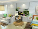 卧室装修效果图 23�O空间整体实用性强_维意定制家具商城