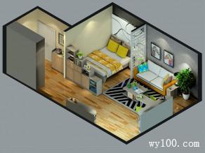 卧室装修效果图 40�O整体弥漫着时尚大气_维意定制家具商城