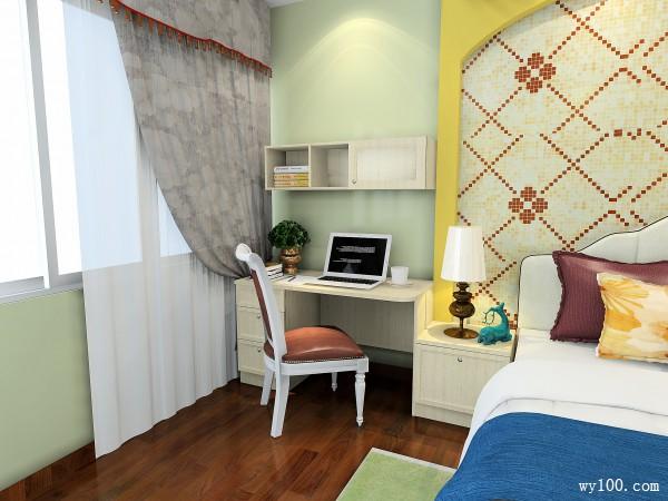 卧室装修效果图 30�O凹位设计简单实用_维意定制家具商城