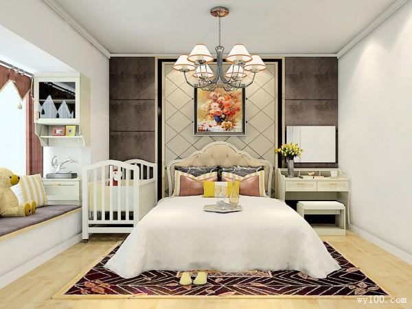 欧式吊柜卧室装修效果图