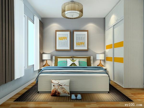 定制床卧室装修效果图