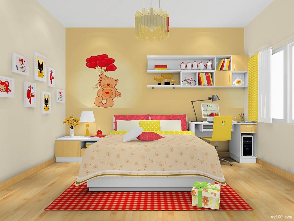 儿童房设计 安全与舒适缺一不可_维意定制家具商城