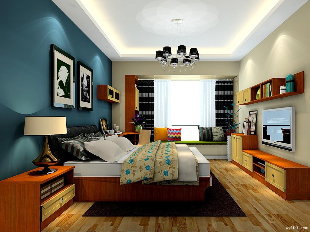东南亚飘窗卧房 14�O典雅围绕_维意定制家具商城