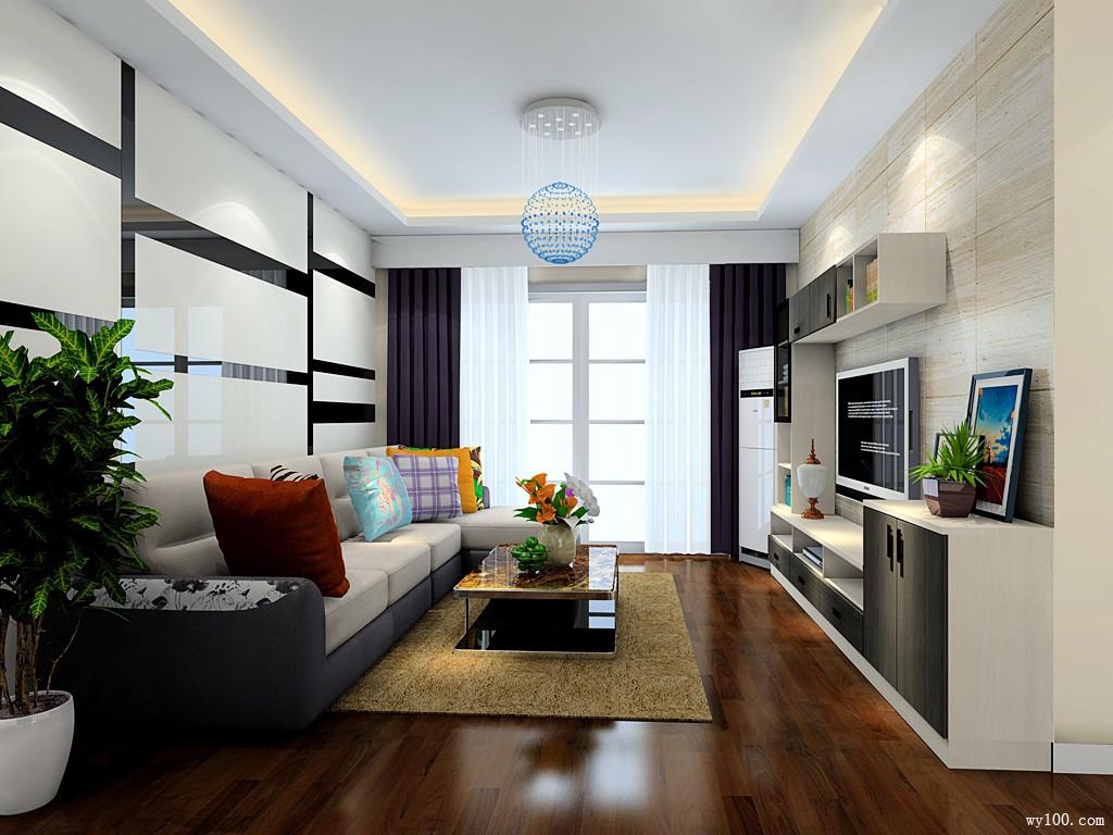 32平黑白典雅客餐厅_维意定制家具商城